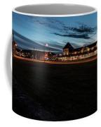 An Evening At The Train Station Coffee Mug