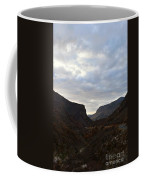An Evening View Through A Valley In The Southwest Foothills Of The Sierra Nevadas Coffee Mug