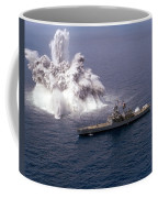 An Explosive Charge Is Detonated Coffee Mug by Stocktrek Images