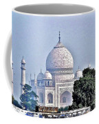 An Extraordinary View - The Taj Mahal Coffee Mug