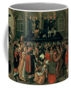 An Eyewitness Representation Of The Execution Of King Charles I Coffee Mug