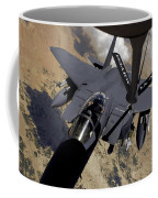 An F-15 Strike Eagle Prepares Coffee Mug by Stocktrek Images