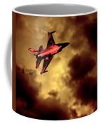 An F-16 Flies Through Hell Coffee Mug
