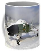 An F-4d Phantom II Aircraft Static Coffee Mug