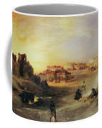 An Indian Pueblo Coffee Mug by Thomas Moran