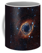A Look In Infrared At The Helix Nebula Coffee Mug