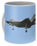 An Italian F-35a Aircraft Coffee Mug