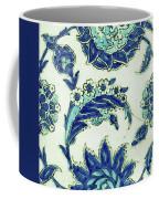 An Iznik Blue And White Pottery Tile, Turkey, 17th Century, By Adam Asar, No 18b Coffee Mug
