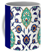 An Iznik Polychrome Tile, Turkey, Circa 1575, By Adam Asar, No 23h Coffee Mug
