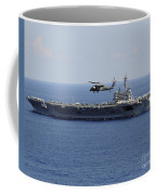 An Mh-60s Seahawk Helicopter Flies Coffee Mug by Stocktrek Images