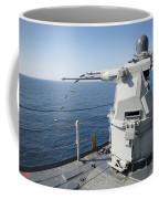 An Mk-38 Machine Gun System Aboard Uss Coffee Mug