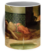 An Odalisque In A Harem Coffee Mug by Benjamin Constant
