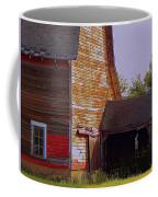An Old Barn And Silo Coffee Mug