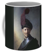 An Old Man In Military Costume Coffee Mug by Rembrandt