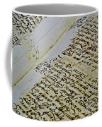 An Old Manuscript Coffee Mug