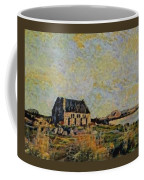 An Old Scottish Cottage Overlooking A Loch  L A S Coffee Mug