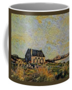 An Old Scottish Cottage Overlooking A Loch  L B Coffee Mug
