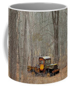 An Old Truck In The Woods. Coffee Mug
