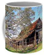 An Old Weathered Barn Coffee Mug