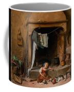 An Opportune Moment Girl Coffee Mug