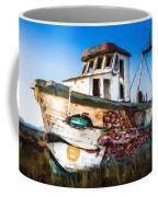 An Wooden Old Ship 2 Coffee Mug