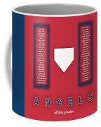 Anaheim Angels Art - Mlb Baseball Wall Print Coffee Mug