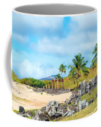 Anakena At Easter Island Coffee Mug