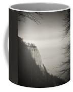 Analog Black And White Photography - Rugen Island - Koenigsstuhl Chalk Cliff Coffee Mug