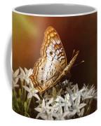 Anartia Jatrophae - White Peacock Butterfly  Coffee Mug