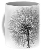 Anatomy Of A Weed Monochrome Coffee Mug
