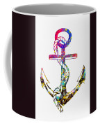 Anchor-colorful Coffee Mug