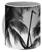 Anchor In Black And White Coffee Mug