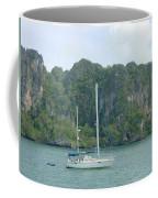 Anchored In Paradise Coffee Mug