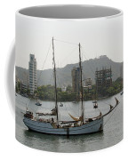 Anchored Sailboat Coffee Mug