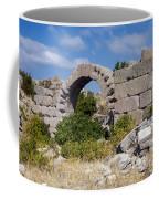 Ancient Bergama Acropolis Ruins Coffee Mug