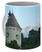 Ancient Building And Mountains Coffee Mug