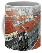 Ancient Buildings At Lisbon. Portugal Coffee Mug