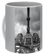 Ancient Cannon In Black And White Coffee Mug