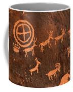 Ancient Indian Petroglyphs Coffee Mug by Gary Whitton