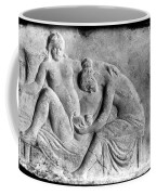 Ancient Roman Relief Carving Of Midwife Coffee Mug