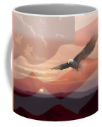And The Eagle Flies Coffee Mug