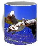 And The Seagull Follows Pelican Coffee Mug