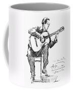 Andres Segovia Coffee Mug
