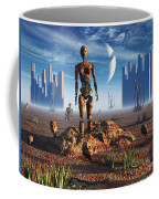 Android Fossils Preserved Coffee Mug