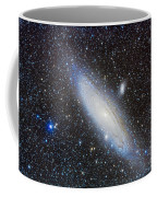 Andromeda Galaxy With Companions Coffee Mug