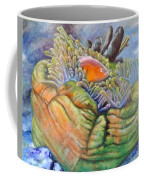 Anemone Coral And Fish Coffee Mug