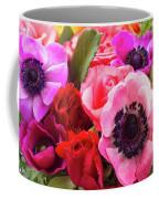 Anemones And Roses Coffee Mug