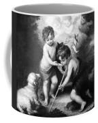 Angel - Angels With White Lamb Coffee Mug