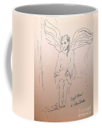 Angel Above Coffee Mug
