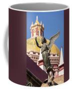 Angel And Cathedral Coffee Mug